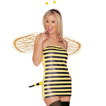 Bee Tube Dress Costume