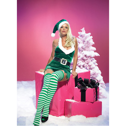 Christmas Elf Costume  sc 1 st  Halloween Playground & Sexy Christmas Costumes Christmas Outfits Santa Suits and Holiday ...