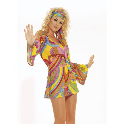 Hippie Dress Costume  sc 1 st  Halloween Playground & Hippie Costumes - Disco Costumes