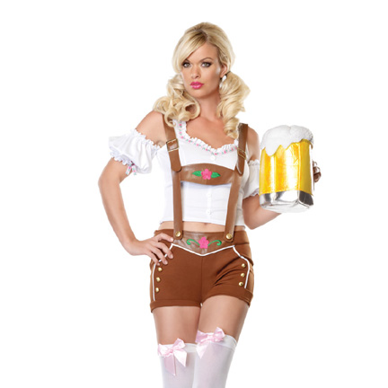Beer Girl Costume - Little Miss Lederhosen Costume