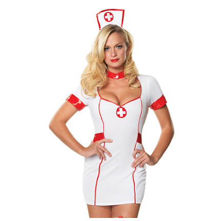 private nurse costume 83499 2 piece private nurse costume includes