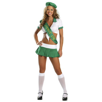 sexy girl scout costume