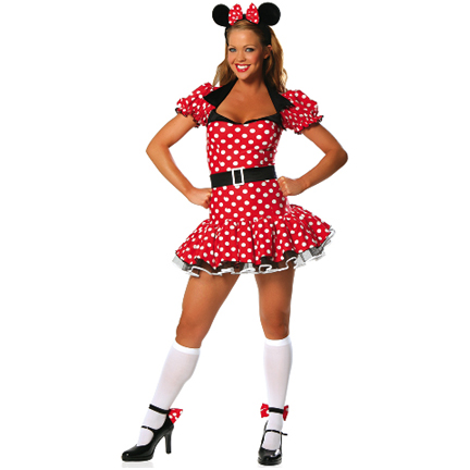 Miss Mouse Costume  sc 1 st  Halloween Playground & Movie Character Costumes