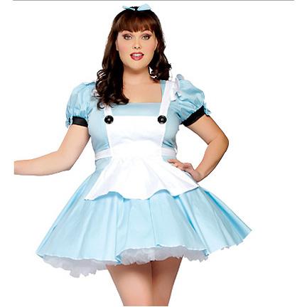 sc 1 st  Halloween Playground & Plus Size Alice in Wonderland Costume