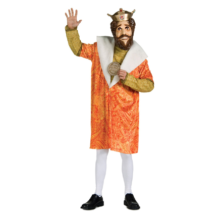 burger king king. Burger King Costume - Burger