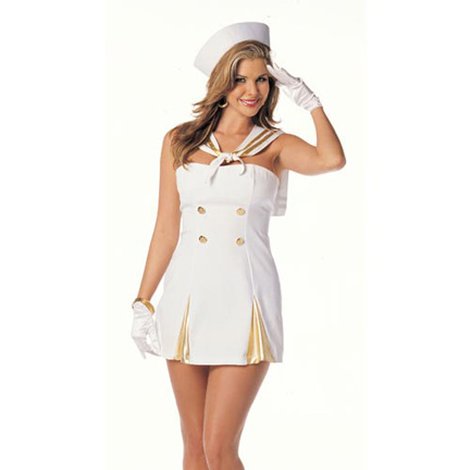 Sexy Sailor Costume - Sailor Woman Costume.